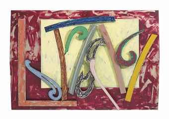 Frank Stella-Laysan Millerbird #22 1X-1976