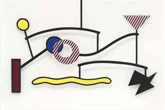 Roy Lichtenstein-Suspended Mobile-1990