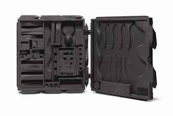Louise Nevelson-Dark Cryptic XXV-1975