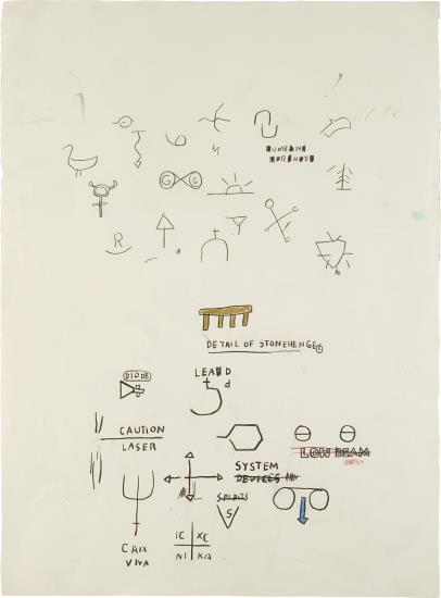 Jean-Michel Basquiat-Untitled-1987