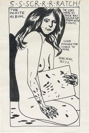 Raymond Pettibon-Scratch / The White Album-1997