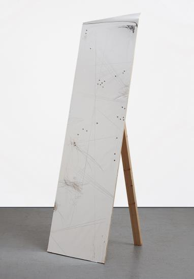 Jutta Koether-Untitled (Mylar Panel)-2006