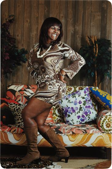 Mickalene Thomas-Just An Old-Fashioned Girl-2009