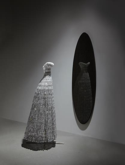 Justen Ladda-Two Works: (I) Dress, 2001; (II) Untitled-2004