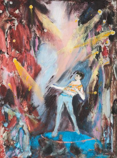 Hernan Bas-Untitled L #496-2006