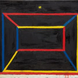 Chris Martin-Empty Frame Painting (Homage To Al Jensen)-2007