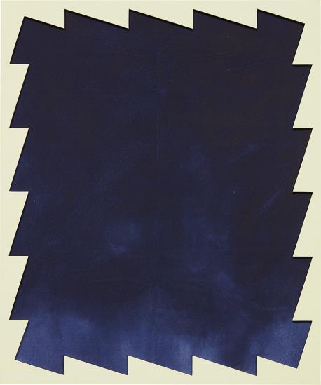 Sarah Crowner-Untitled (Sawtooth) 2-2014