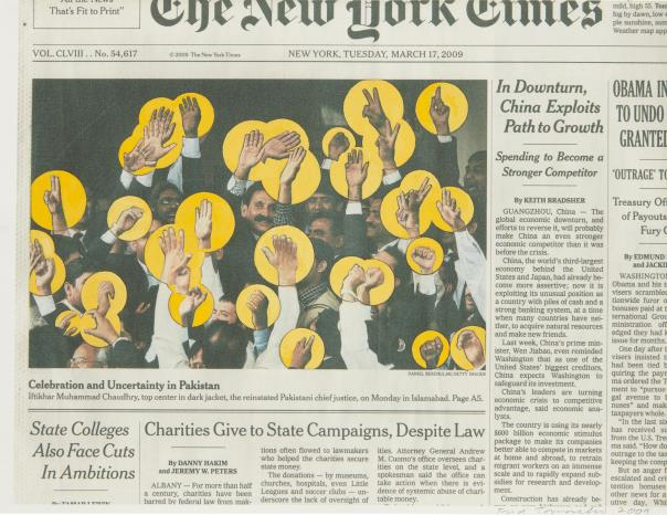Fred Tomaselli-Mar. 17, 2009-2009
