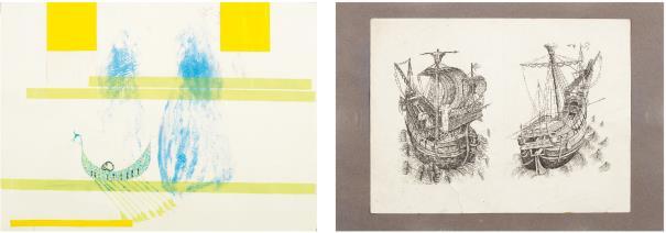 Kai Althoff-Two Works: (I) Untitled; (II) Untitled-2003