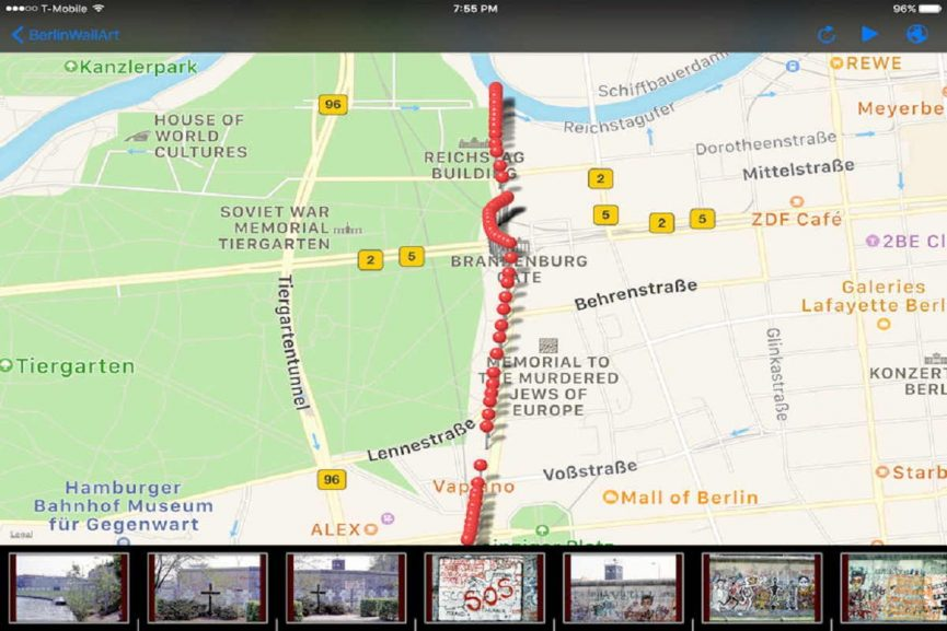 "Route I ""Reichstag to Potsdamerplatz"""