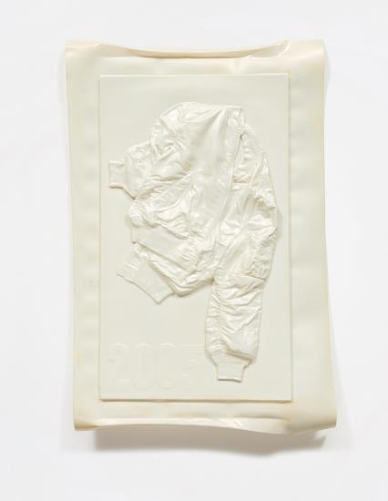 Seth Price-Untitled (Pearlescent White Jacket)-2005