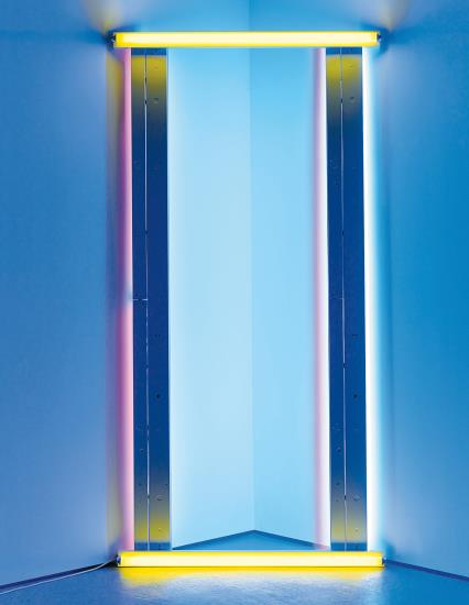 Dan Flavin-Untitled (To Barnett Newman) One-1971