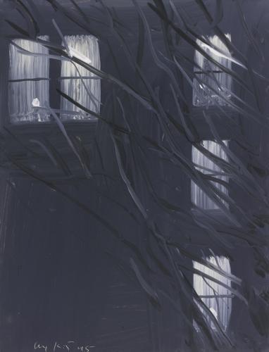Alex Katz-Purple Wind-1995