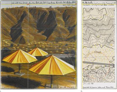 Christo and Jeanne-Claude-The Umbrellas (Joint Project For Japan And Usa)-1989