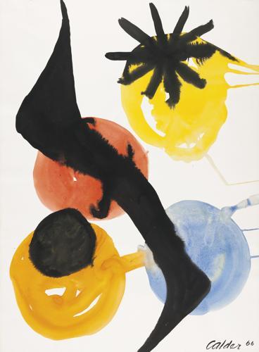 Alexander Calder-Untitled-1966