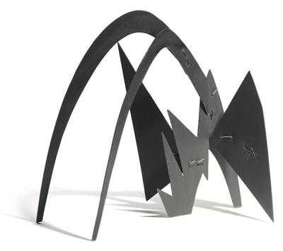 Alexander Calder-Jagged And Arched (Maquette)-1963