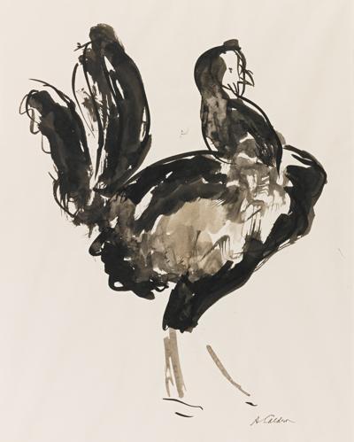 Alexander Calder-Untitled (Rooster)-1925