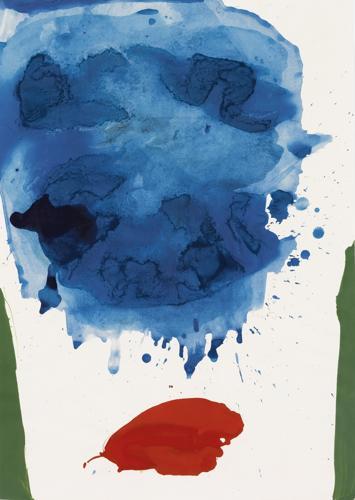 Helen Frankenthaler-Summer Pillars-1964