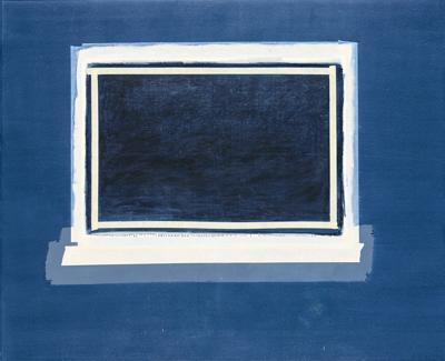 Sylvia Plimack Mangold-Nocturnal Field-1979