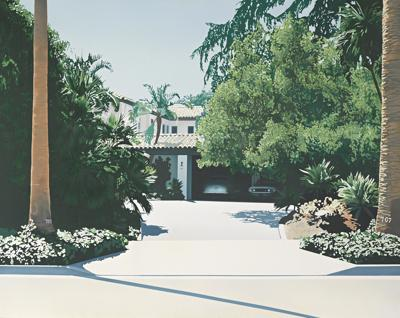 Paul Staiger-The Home Of Kirk Douglas, 707 North Canon Dr., Beverly Hills, California-1970