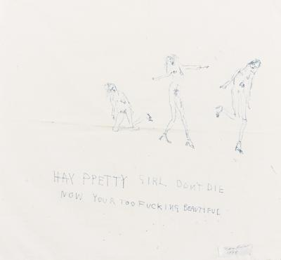 Hay Pretty Girl Don'T Die Now Your Too Fucking Beautiful-1998