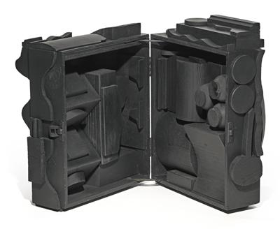 Louise Nevelson-End Of Day Cryptic XVII-1972