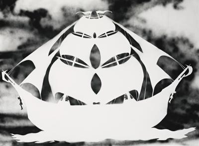 Kara Walker-Untitled (The Big Ship)-2000