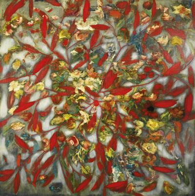 Ross Bleckner-Meditation / For H.M. (Ruins Proclaim The Building)-2007