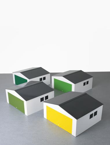 Julian Opie-Garage ? (Four Works)-2004
