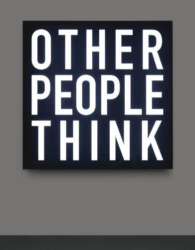 Alfredo Jaar-Other People Think-2012