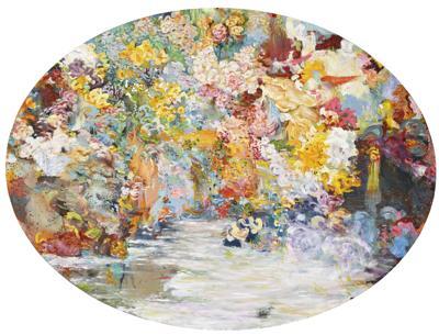 Alexis Marguerite Teplin-Floral Fete Gallante, Nymphea-2001