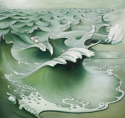 Inka Essenhigh-Gray Wave-2002