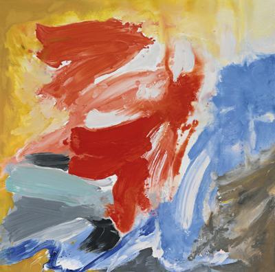 Friedel Dzubas-Late Passion-1985