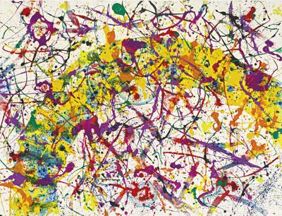 Sam Francis-Untitled-1992