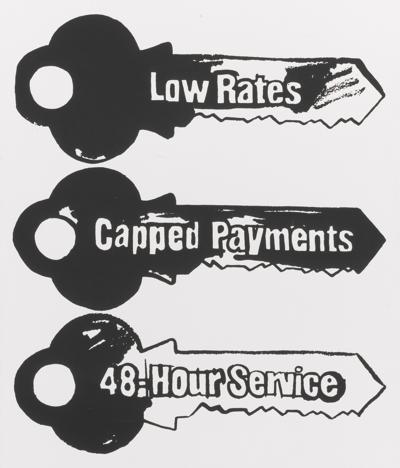 Andy Warhol-Key Service (Positive)-1985