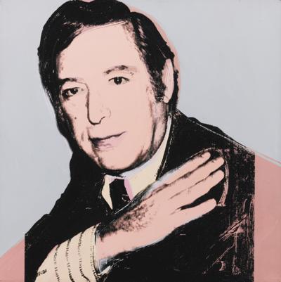 Andy Warhol-Portrait Of Jack Tanzer-1976