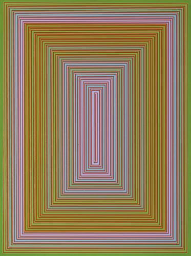 Richard Anuszkiewicz-Green Tint Portal-1976
