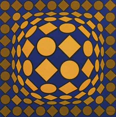 Victor Vasarely-Pint-Do-1973