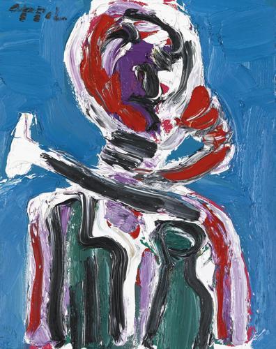 Karel Appel-The Drinker No. 3-1987