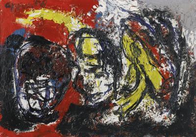 Karel Appel-Untitled-1958