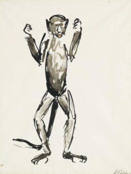 Alexander Calder-Untitled (Monkey)-1925