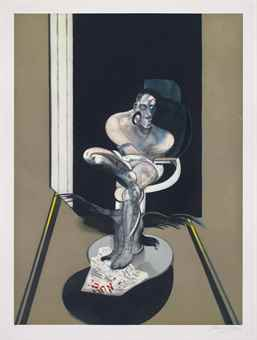 Francis Bacon-Seated Figure-1992