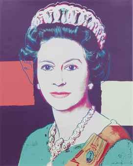 Andy Warhol-Queen Elizabeth Ii, From: Reigning Queens-1985