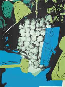 Andy Warhol-Grapes-1979