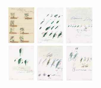 Cy Twombly-Natural History, Part II: Some Trees Of Italy-1976