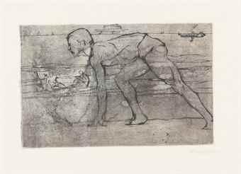 Umberto Boccioni-L'Atleta-1907
