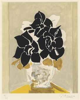 Georges Braque-Les Amaryllis-1958