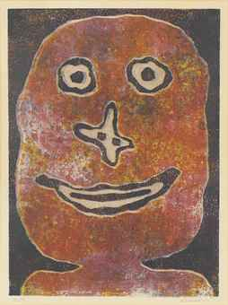 Jean Dubuffet-Sourire-1962