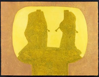 Rufino Tamayo-Dos Figuras-1976