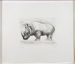 Henry Moore-Rhinoceros